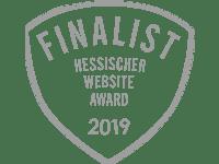 Finalist Hessischen Website AWARD 2019